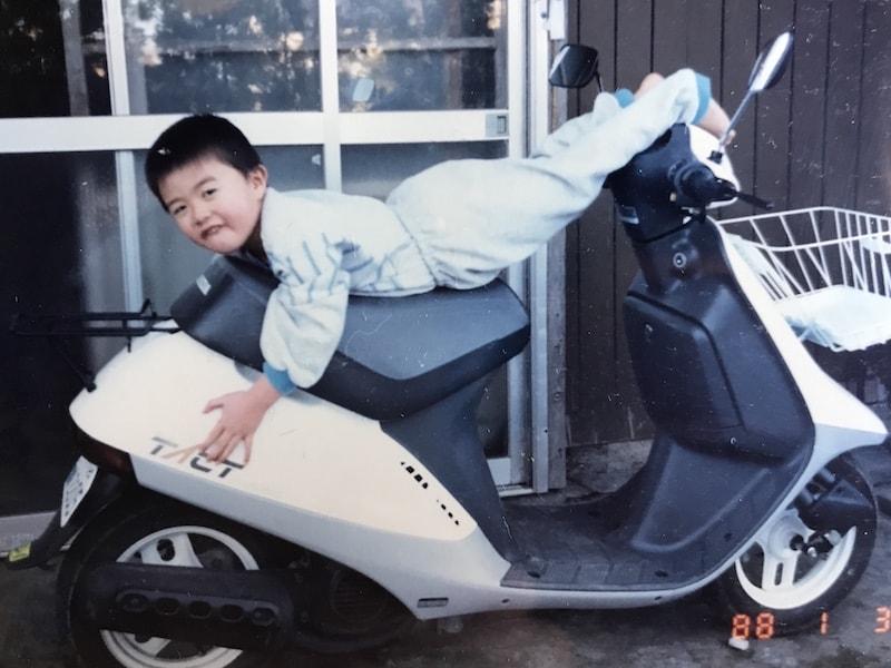 慎矢のバイク