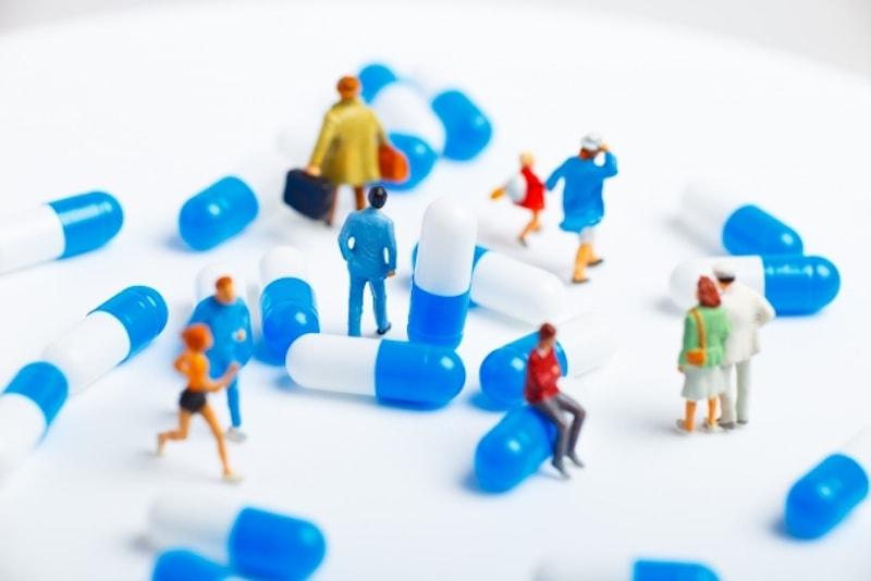 サプリメントや薬の画像
